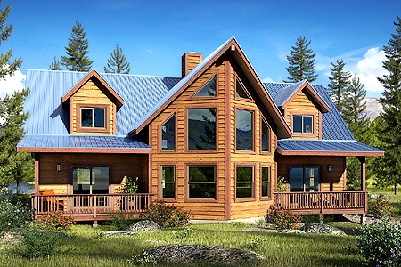cabin kit homes mill direct customer direct save thousands Kit Home Cabin