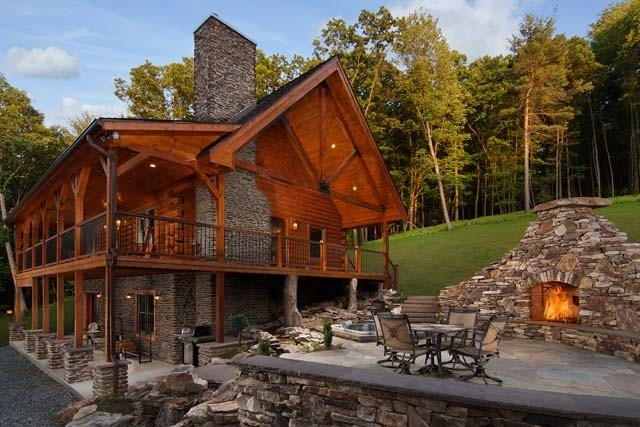 cabin living features timberhaven log timber homes Log Cabin Homes