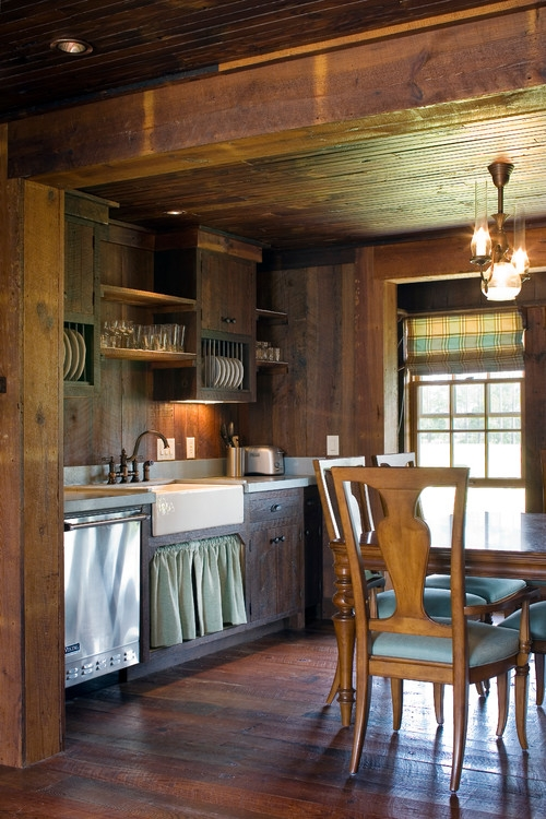cabin style decorating ideas town country living Cabin Decorating