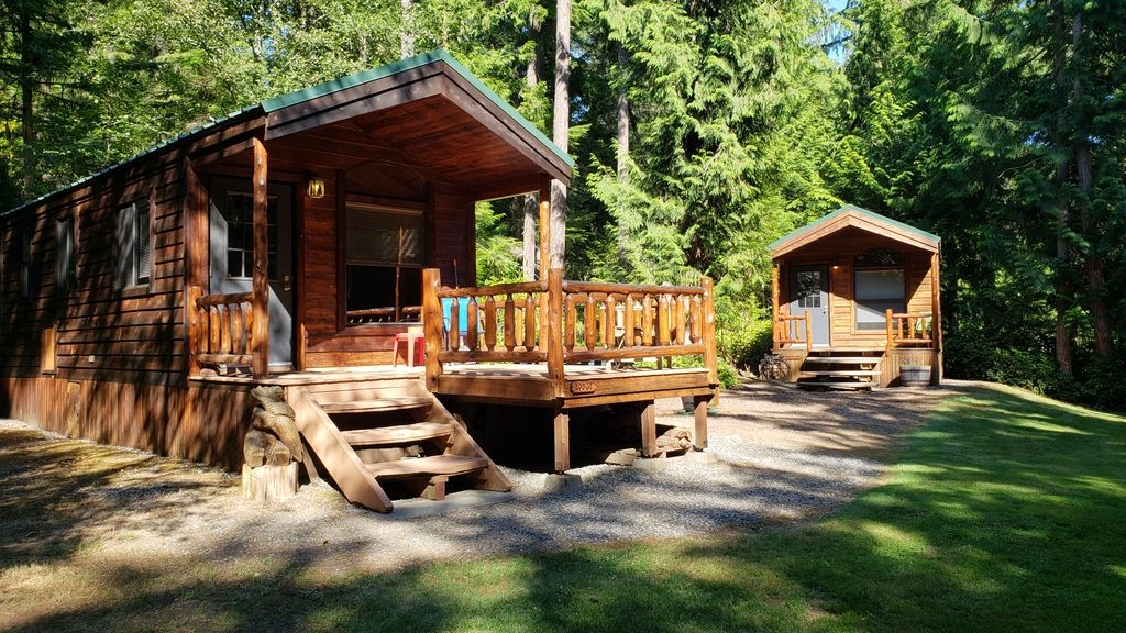 cabins at treefrog woods port townsend includes 2 private vacation cabins port townsend Cabins In The Woods