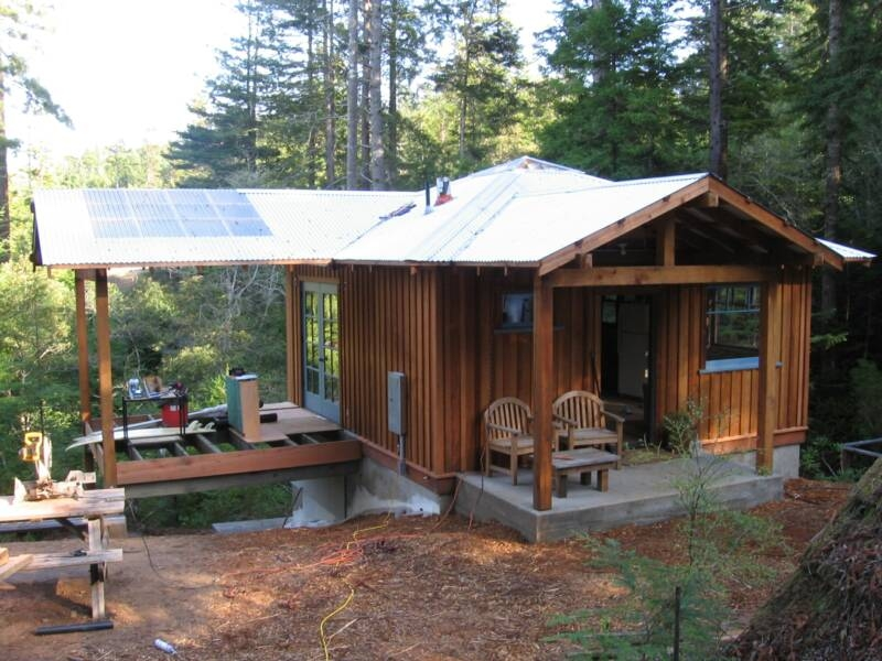 cabins small houses cottages bhs contracting oregon contractor Custom Small Cabin