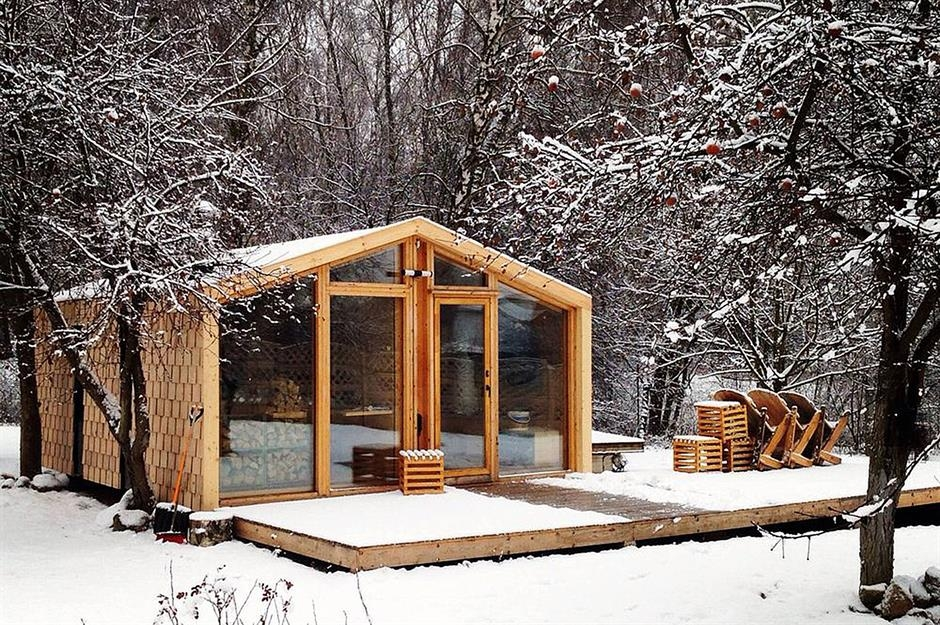flat pack tiny homes you can build in a flash loveproperty Small Cabin Self Build