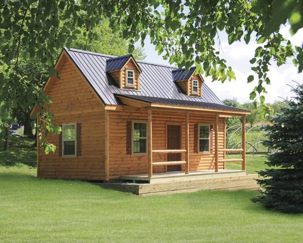 gorgeous amish built log cabins vs manufactured log homes Amish Made Log Cabins