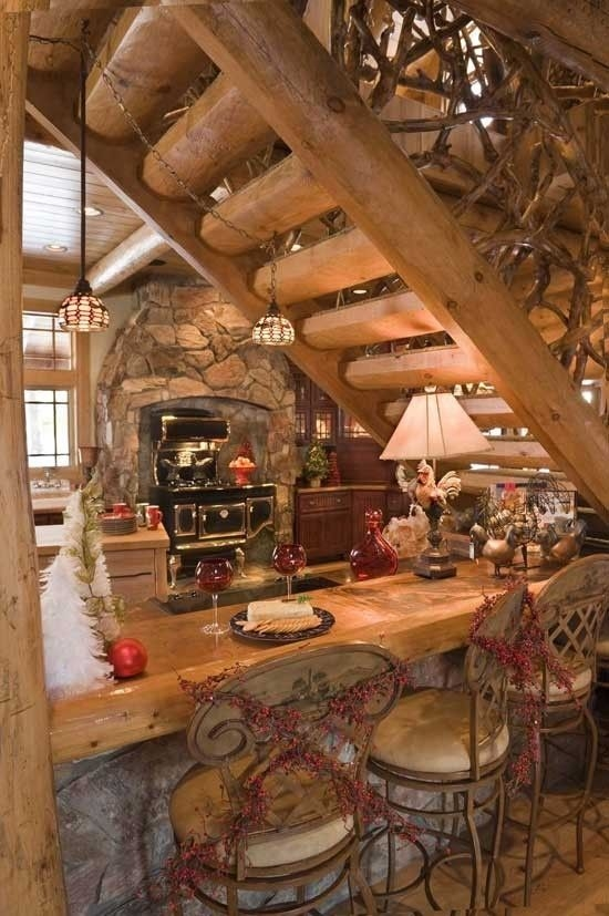 great use of space under stairs this is how our stairs are How To Set Up A Log Cabin