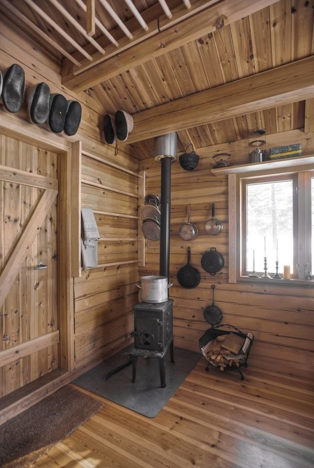 how to build a tiny off grid cabin for 2k with images Small Off Grid Cabin Interior