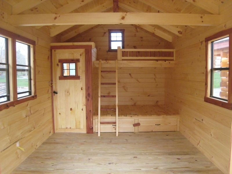 hunting cabin bunk bed plans pdf woodworking cabin plans Hunting Cabin Plans
