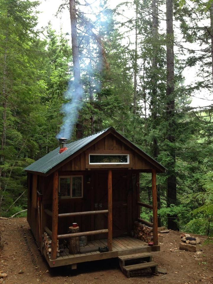 i haz a tiny cabin in the woods Tiny Cabin