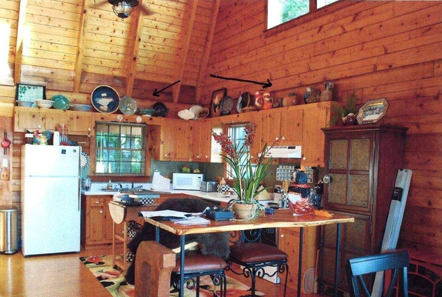 inside houzz new rustic style for a mountain cabins kitchen Log Cabin Furniture At Houzz