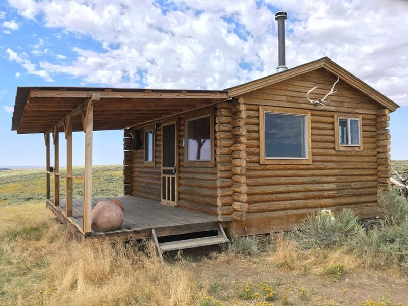 little snake overlook hunting cabin ranch for sale in Hunting Cabin