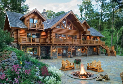 log cabin homes myths to forget and realities to consider Log Cabin Homes
