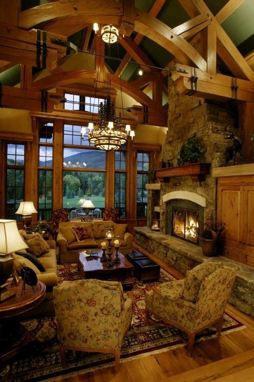log cabin living room pictures home living rooms and sweet Cabin Living Room Ideas