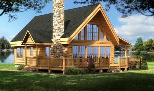 log home plans cabin designs from smoky mountain builders Mountain Cabin Floor Plans