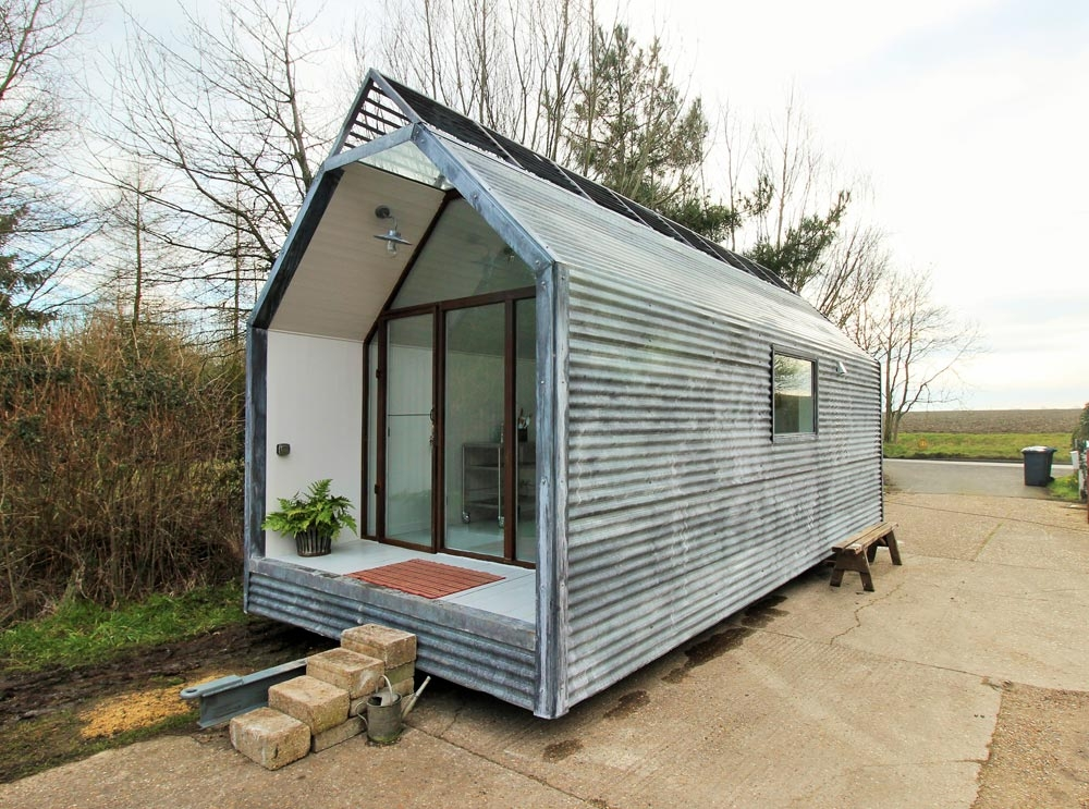 mini cabin contemporary shepherds huts tiny living Mini Cabin
