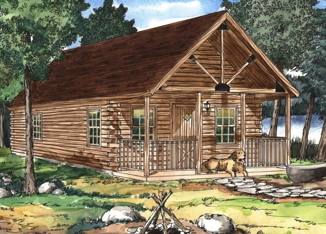 most affordable hunting cabins sportsman cabin series Hunting Cabin