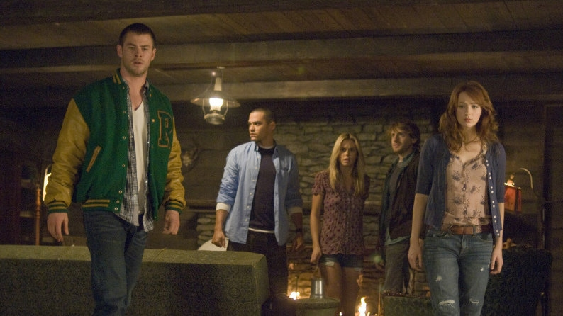 movie review cabin in the woods a dead serious genre Cabin In The Woods