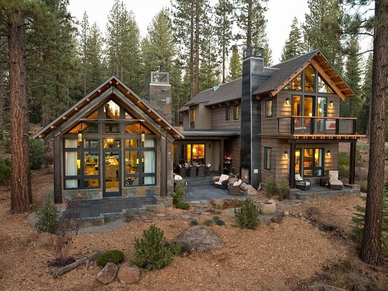 perhaps too big to be a cabin but i love it hgtv dream Modern Cabin House