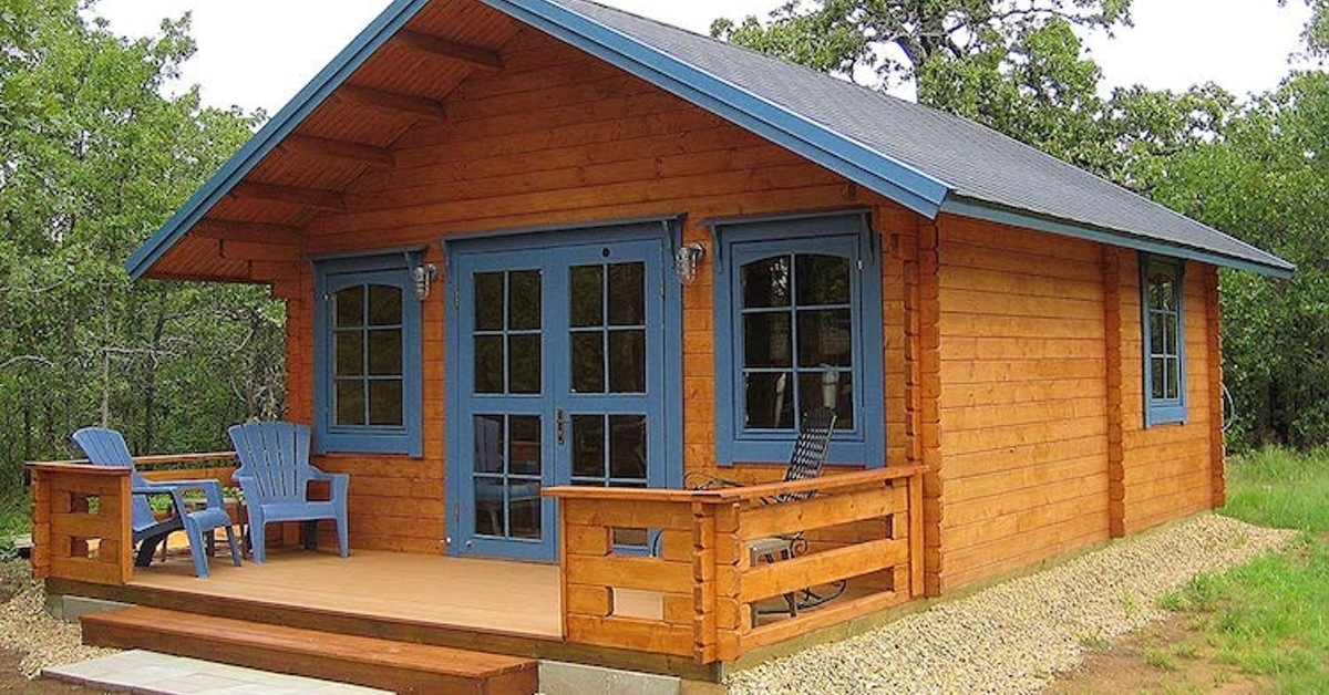 prefabricated tiny homes available for sale on amazon 200 Sq Ft Cabin Kits