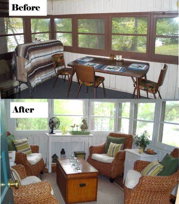 renovate a small cabin before and after pictures tiny Small Cabin Remodels