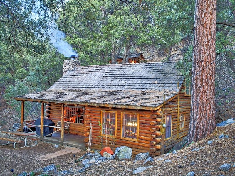 romantic rustic log cabin with porch swing wifi updated Cabin Wood