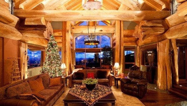 rustic cabin decorating archives pioneer log homes of bc Cabin Decorating