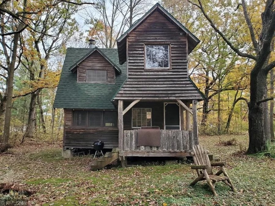 rustic cabin on 26 acres in luck wi Rustic Cabins