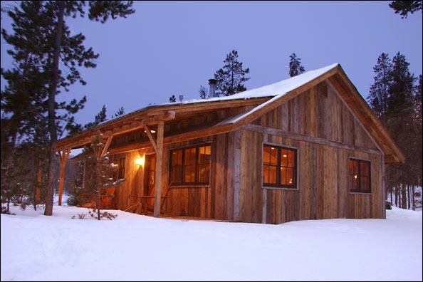 rustic cabin plans and drawings the telluride Small Rustic Cabin Plans