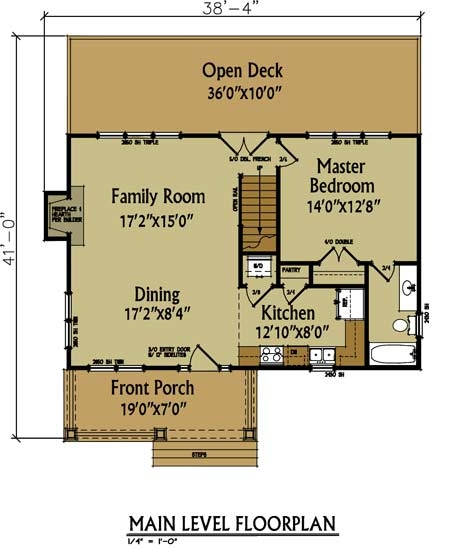 small cabin floor plan max fulbright designs Cabin House Floorplans