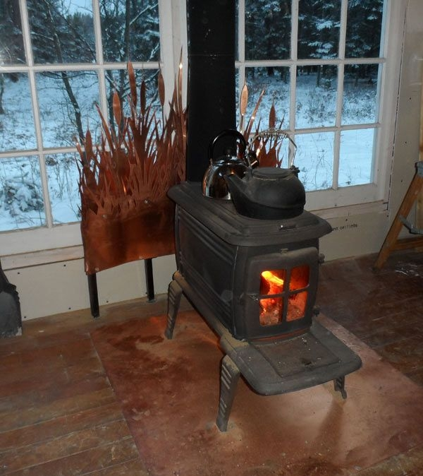 small cabin wood stove setup small cabin forum 6 small Wood Stoves In Cabins