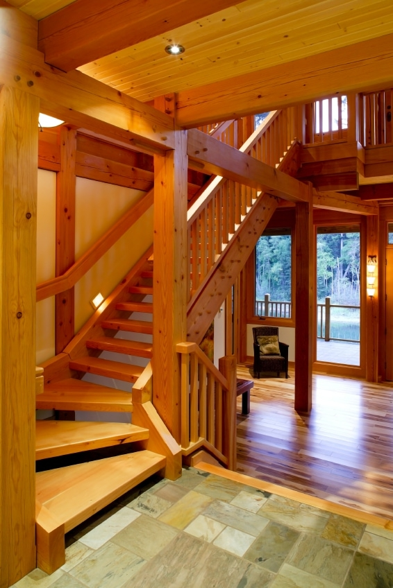 small homes timber frame hq Timber Frame Small Cabin/