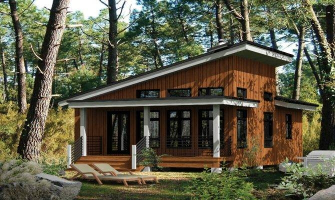 small modern cabins contemporary cabin house plans house Small Modern Cabin