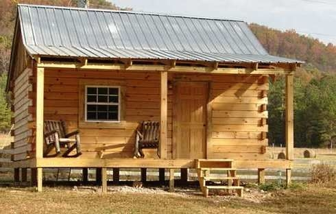 standout hunting cabins right on target hunting Hunting Cabins Plans