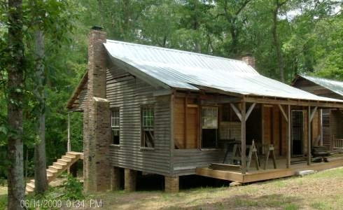 the rustic hunting cabin in our sights Hunting Cabins Plans