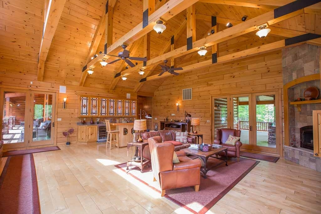 the secrets out knotty pine paneling is the 1 choice for Cabin Interior Wall Material