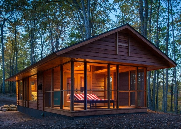 this small cabin was designed with one big difference Small Cabin