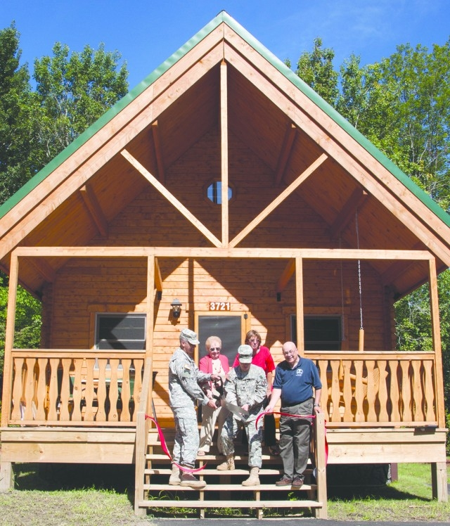 three spacious new cabins provide more recreation options Provide The Photo Of Cabin