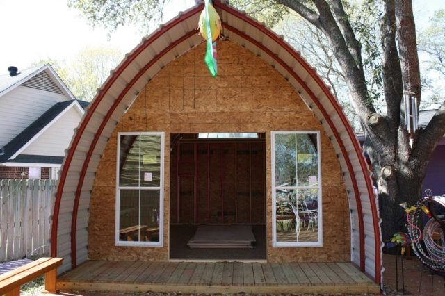tiny house for under 1000 arched cabin tiny house kits Arched Cabin Kits