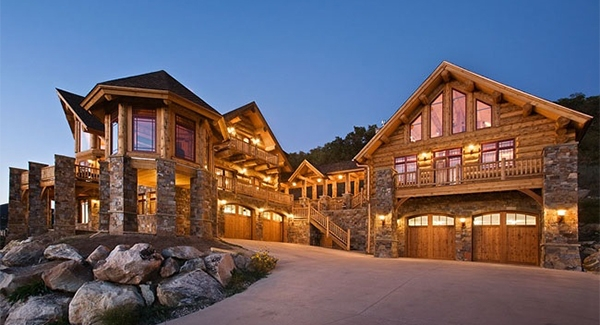 ultimate log home 9436 5 bedrooms and 4 baths the house designers Cabin House
