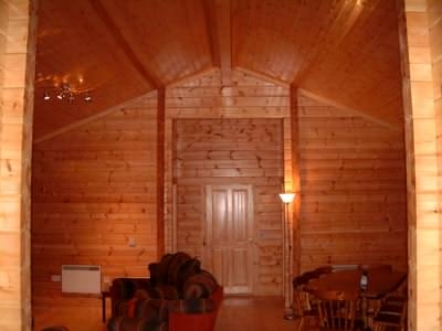 what log cabin interior style do you like Cabin Interior Wall Material