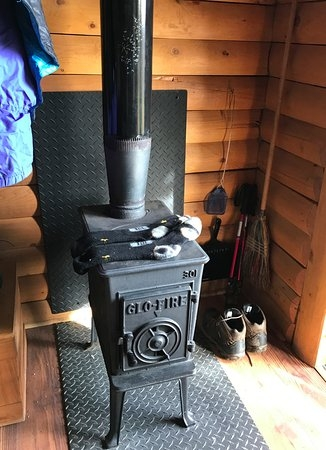 wood stove in each cabin picture of camp denali denali Cabin Wood Stove