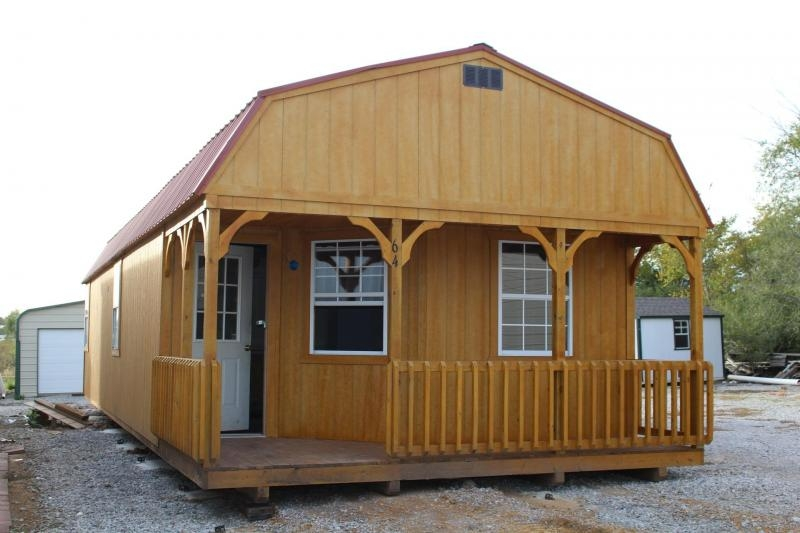 16x44 lofted barn cabin Lofted Cabin