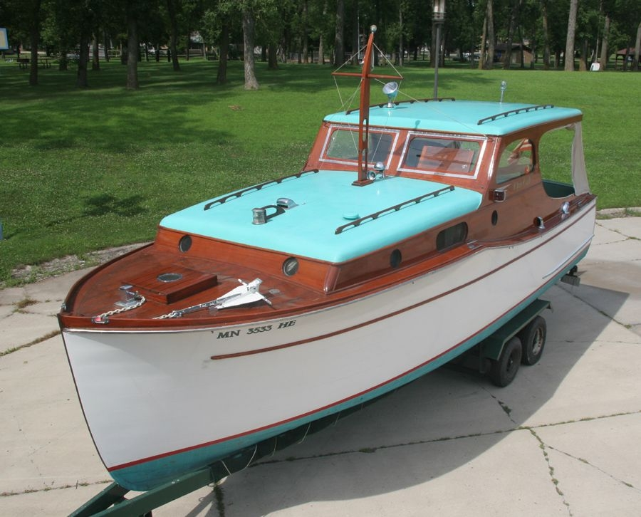 1936 chris craft 28 wooden cabin cruiser for sale classic Small Model Cabin Boats