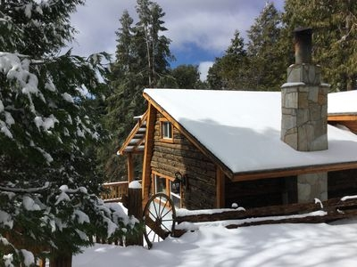 2br cabin vacation rental in palomar mountain california California Mountain Cabin