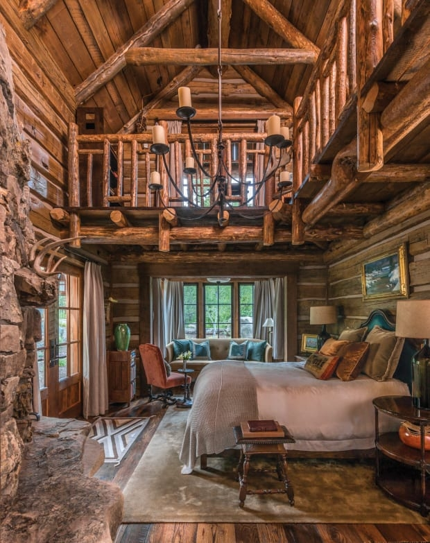a new old rustic log house old house journal magazine Rustic Log Cabin Interiors