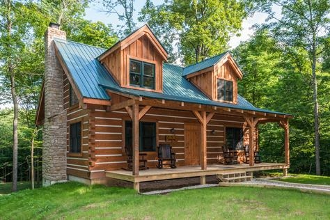 brown county log cabins Brown County Cabins For Two