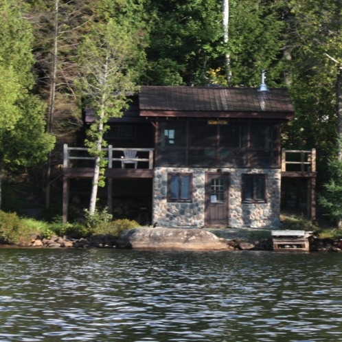 camp adelle an adirondack waterfront cabin for rent in Saranac Lake Cabins
