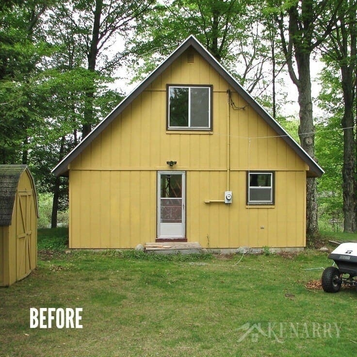 cottage makeover 1970s cabin to relaxing retreat Lake Cabin Makeover