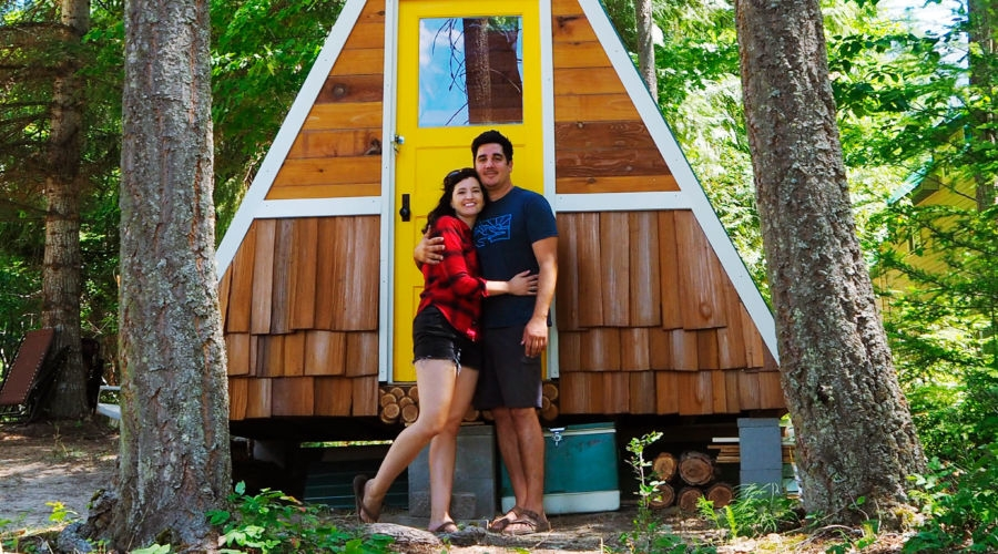 diy project build your own a frame for 1700 sunset magazine A Frame Cabins To Build