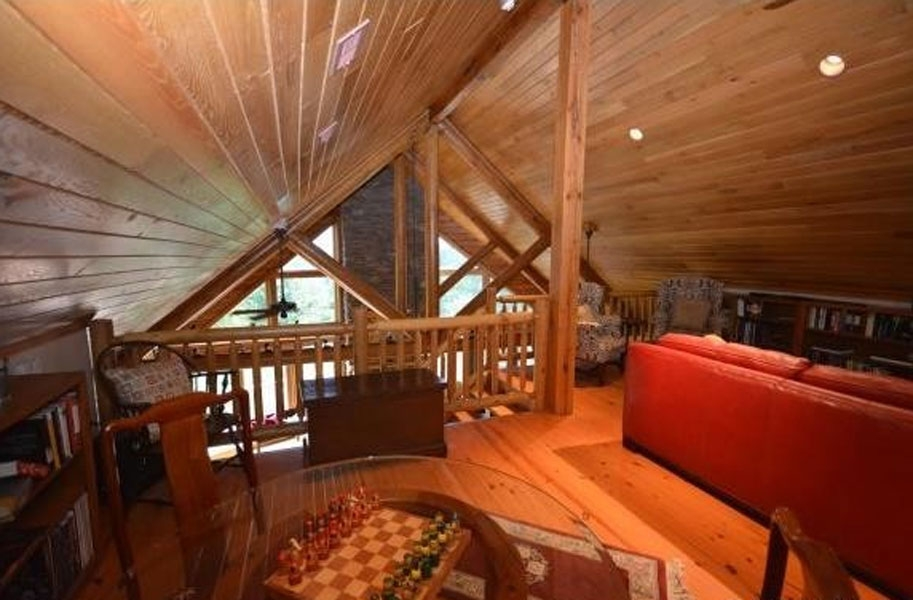 find the perfect loft design for your new log cabin Pictures Of Cabin Lofts