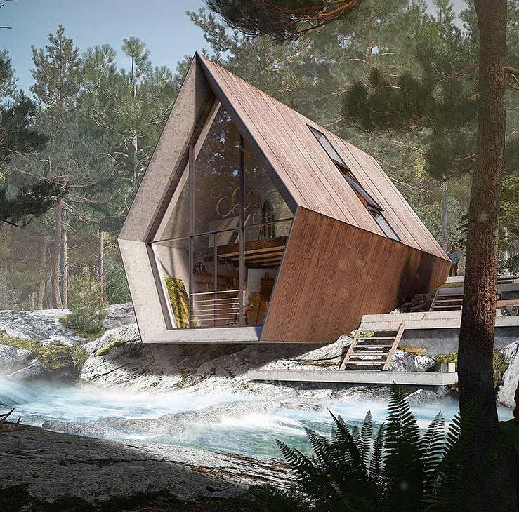 forest cabin the best designs and art from the internet Forest Cabin Designs