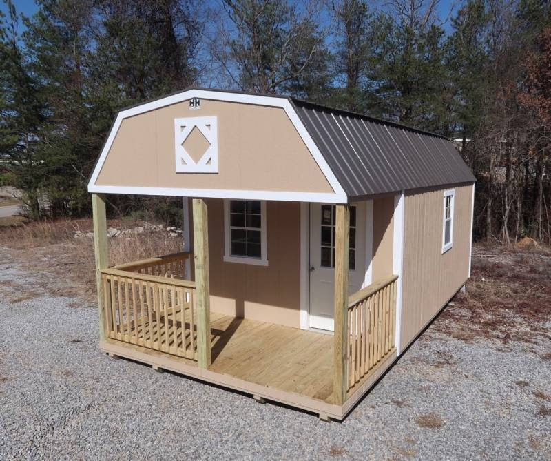 hh portable buildings 10x20 lofted barn cabin Lofted Cabin